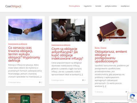 Czasobligacji.pl jak kupić obligacje