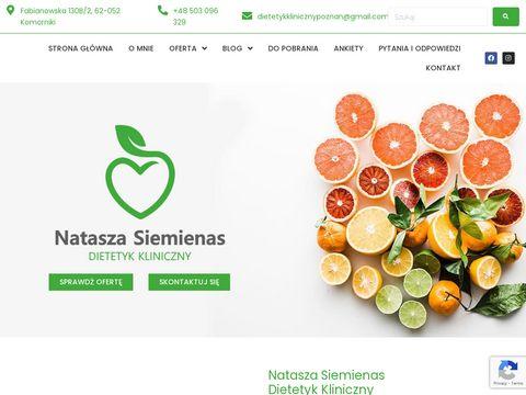 Czas-diety.pl doradztwo dietetyczne Poznań