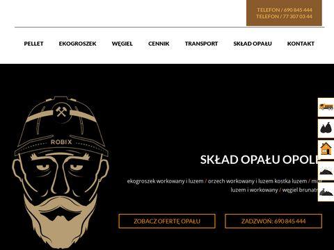 Czornydiament.pl Robix skład opału Opole