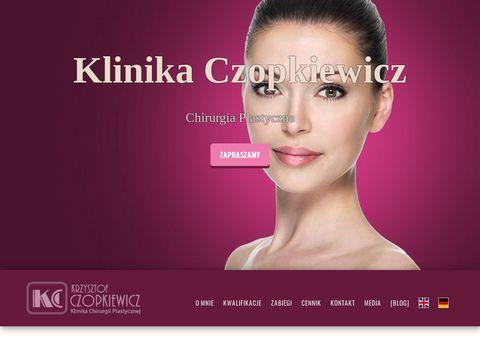 Czopkiewicz.pl zabiegi chirurgii plastycznej
