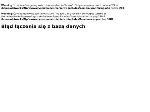 Czyszczenie-wysokocisnieniowe.pl dachów Łódź