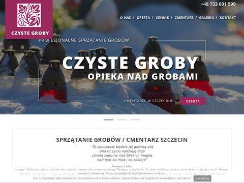 Czyste-groby.szczecin.pl Opieka nad grobami