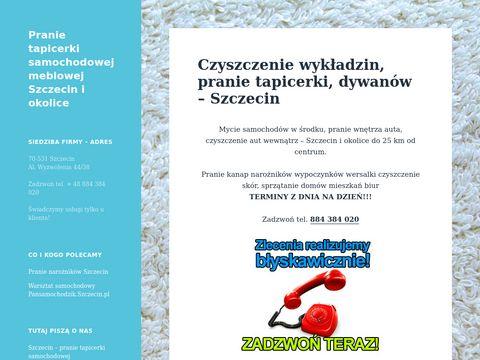 Czystko.szczecin.pl - pranie tapicerek