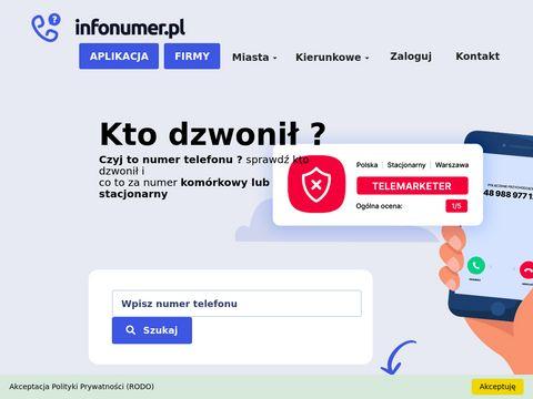 Czyjnumertelefonu.pl kto dzwonił