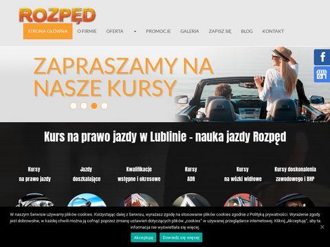Cskrozped.pl prawo jazdy kat D Lublin