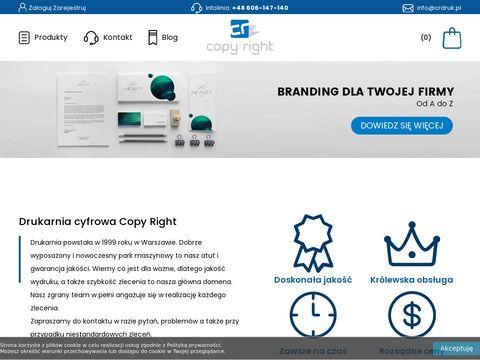 Copy Right drukarnia cyfrowa