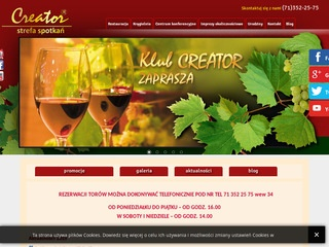 Creatorklub.pl gra w kręgle Wrocław