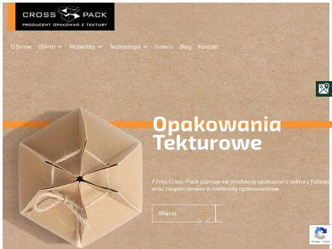 Crosspack.pl producent opakowań z tektury Radomsko