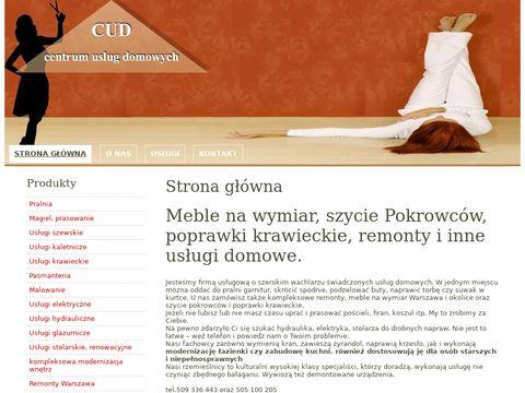 CUD - remonty Warszawa i meble na wymiar