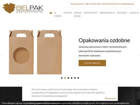 Bielpak.pl hurtownia opakowań kartonowych
