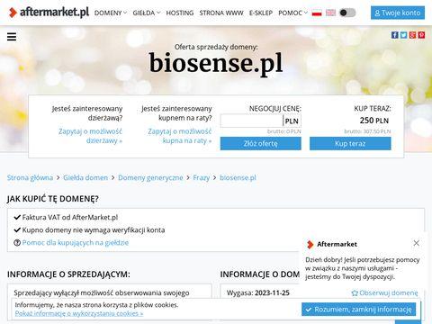Biosense.pl - kosmetyki naturalne
