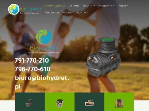 Biohydret.pl przydomowa oczyszczalnia