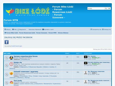 BikeLodz.pl - łódzkie forum rowerowe