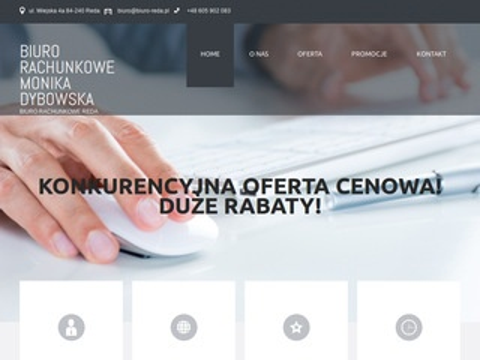 Monika Dybowska biuro rachunkowe Reda