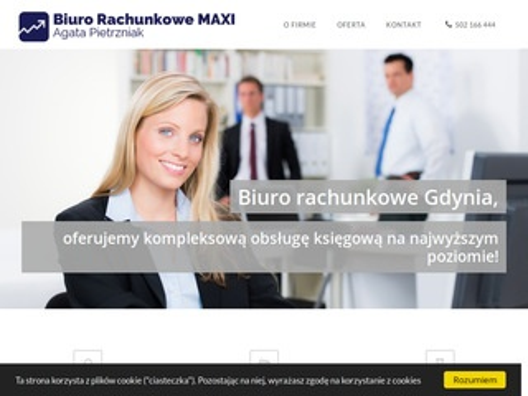 Biurorachunkowemaxi.pl księgowość