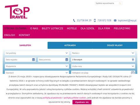 Top Travel biuro podróży Pruszków
