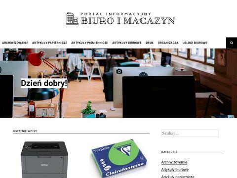 Biuroimagazyn.com - materiały biurowe