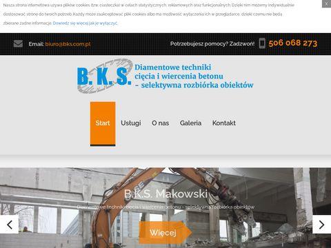 B.K.S rozbiórka obiektów