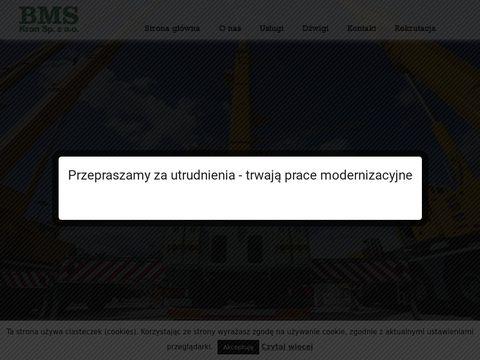 Bmskran.pl dźwigi Szczecin