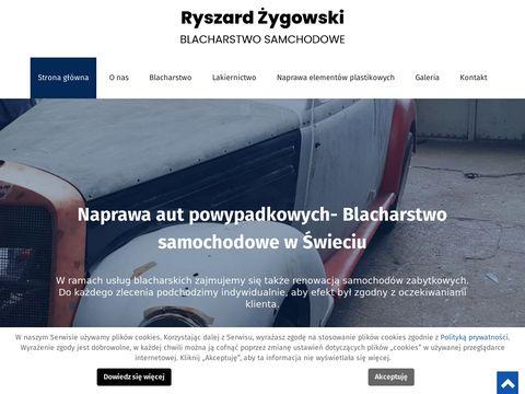 Blacharstwosamochodoweswiecie.pl auta zastępcze