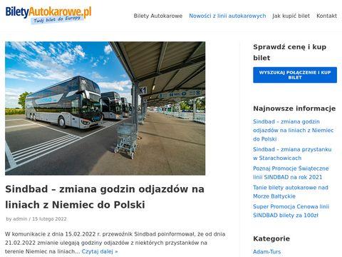 Blog o autokarach