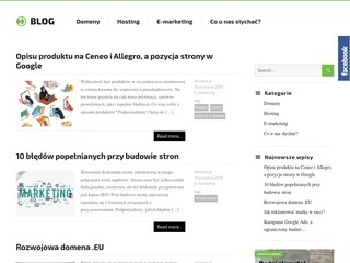Blog.domena.pl hosting