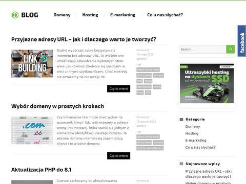 Blog.domena.pl hosting
