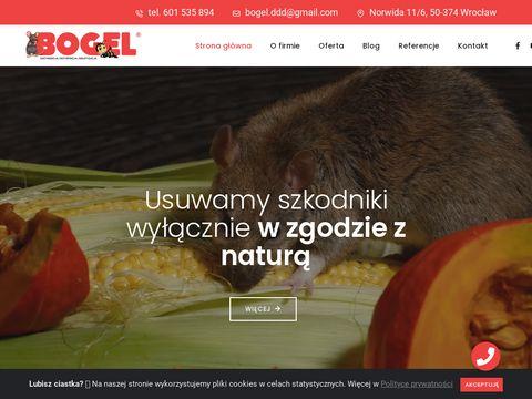 Bogel dezynfekcja Wrocław