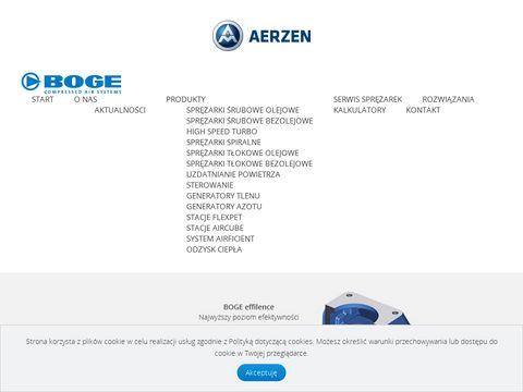 Bogepolska.pl sprężarki, generatory tlenu, azotu