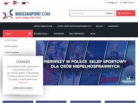 Bocciasport.com sklep dla niepełnosprawnych