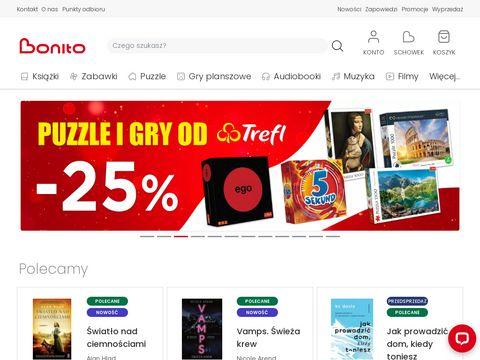 Bonito.pl - tania księgarnia