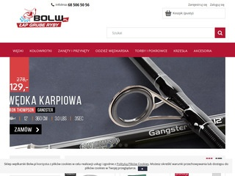 Bolw.pl - akcesoria wędkarskie