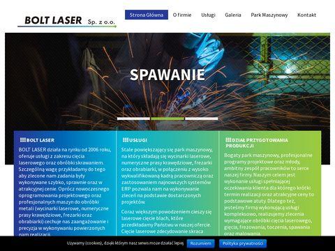 Bolt-laser.pl spawanie