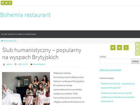 Bohemiarestaurant.pl