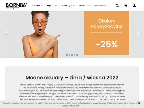 Born86.pl okulary kujonki