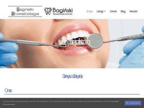 Baginskistomatologia.pl dentysta Białystok