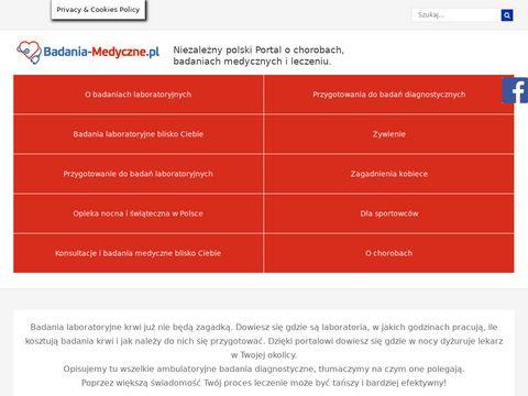 Badania-medyczne.pl jak interpretować wyniki badań