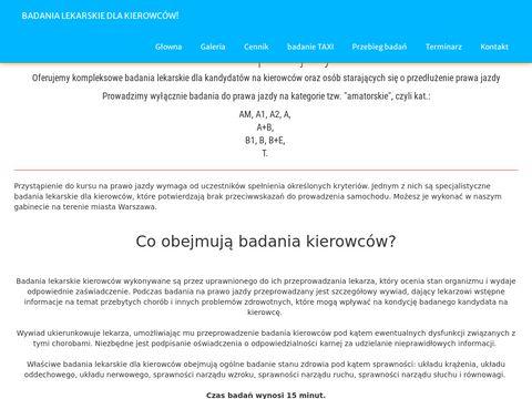 Badania-lekarskie-dla-kierowcow.pl