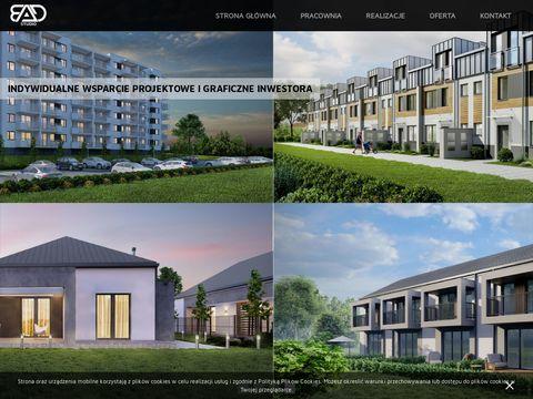 Bad-studio.pl architektura wnętrza wizualizacje