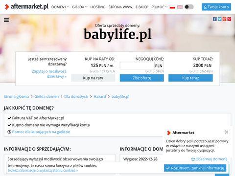 Babylife.pl mleko modyfikowane
