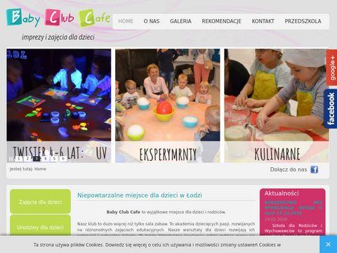 Baby Club Cafe atrakcje dla dzieci Łódź