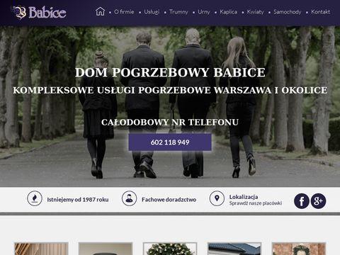 Babice dom pogrzebowy Warszawa