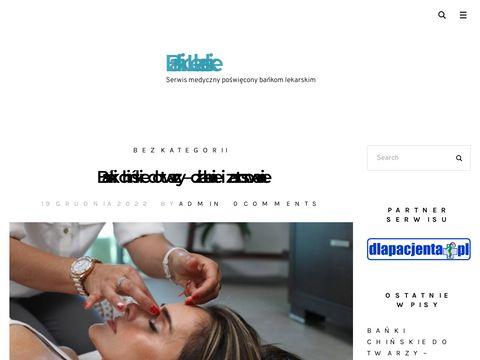 Bankilekarskie.pl sklep z bańkami szklanymi