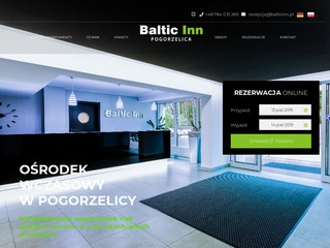 Baltic Inn pogorzelica stoczniowiec