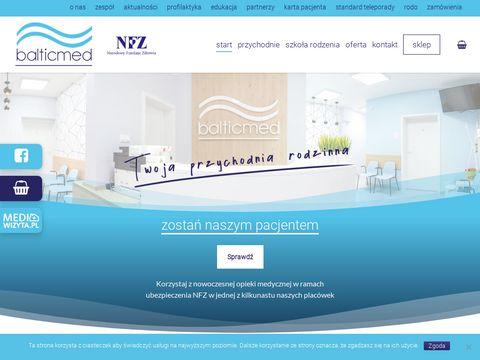 Balticmed.pl lekarz rodzinny Warszewo