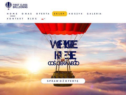Ballooning.pl lot reklamowy