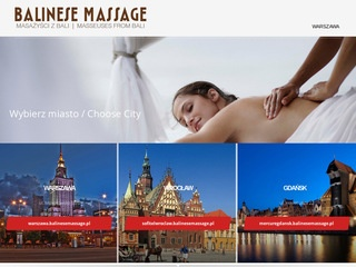 Balinesse Massage - salon masażu