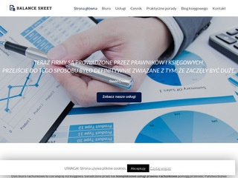 Balancesheet.pl - biuro rachunkowe Legionowo