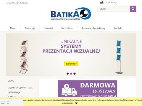 Batika.pl systemy informacji wizualnej