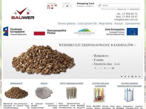 Bauwer sp. z o.o. - wermikulit, perlit